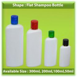 Flat Shampoo Bottle
