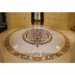 Beautiful Marble Inlay Flooring