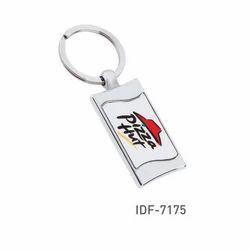 Silver Metal Promotional Key Rings