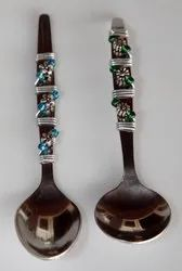 Beaded Serving Spoon Cutlery Set