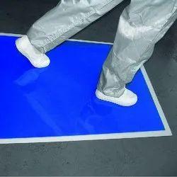 Polyethylene Film Blue Sticky Mats, Mat Size: 24 X 36 Inch