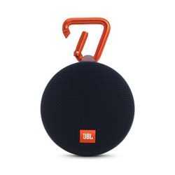 Black JBL Clip 2 Portable Wireless Bluetooth Speaker