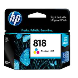 HP 818 Color Ink Cartridge
