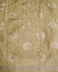 African George Embroidery Fabric