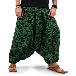 Cotton Printed Ladies Pants Harem Casual Genie Boho Hippie
