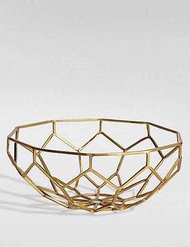 Arc Export Gold Plated Bowl