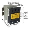 50 AMP RANDOM DC TO AC SOLID STATE RELAY