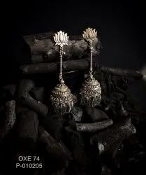 Oxidized Earrings OXE 74