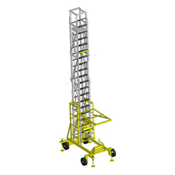 2 Sliding Tiltable Tower Ladder