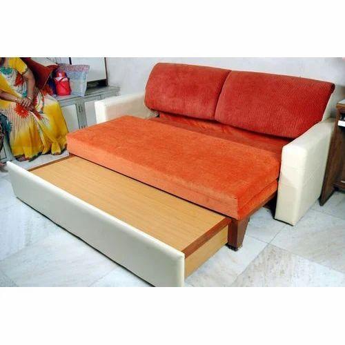 Wooden Designer Sofa Bed Width 2 5 Feet