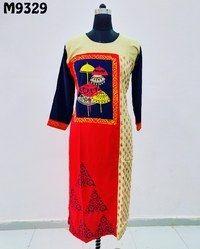 Embroidered Designer Kurti