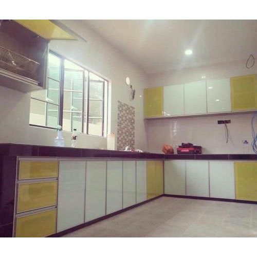 Aluminium Modular Kitchen At Rs 1100 Square Feet: Aluminium Kitchen Cabinet, Rs 2200 /square Feet, Prime
