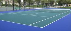 Outdoor Tennis Court Flooring