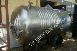 Mild Steel Process Vessels for Petro Chemical Industry, Capacity: 500-1000 L