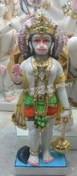 Hanuman Marble Idol