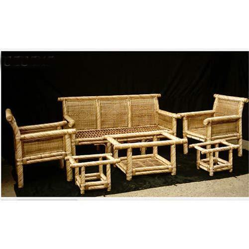 Brown Bamboo Cane Sofa Set Rs 25000 Set Sakchin