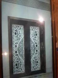 Solid Wood Designer Door