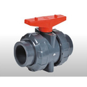 Hand lever UPVC 2 Way Ball Valve