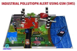Industrial Pollution Alert Using GSM (SMS)
