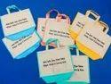 Printed Eco Friendly Jute Bag, Size: 15*12*8