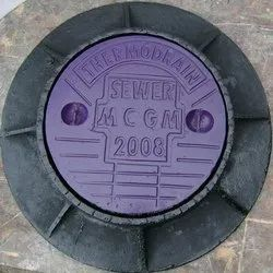 Thermodrain FRP Construction Manhole Cover