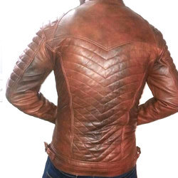 52 Pure Leather Mens Fancy Leather Jacket
