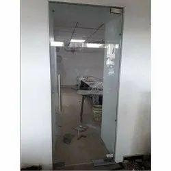 Hinged Frameless Toughened Glass Door