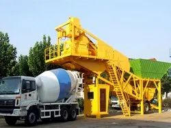 Electric Twin Shaft Mixer Ready Mix Concrete Plant, Model Name/Number: Hp 30