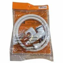 Torrando White PVC Health Faucet Set