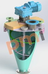 Stainless Steel And Mild Steel Conical Blenders, Capacity: 100 - 20000 Ltr, 2 Hp - 100 Hp