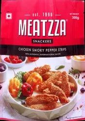 Meatzza Chicken Smoky Pepper Strips Frozen Foods