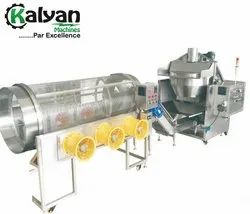 Automatic Oil Popcorn Popper With Sifter