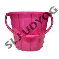 Pink Plastic Bucket