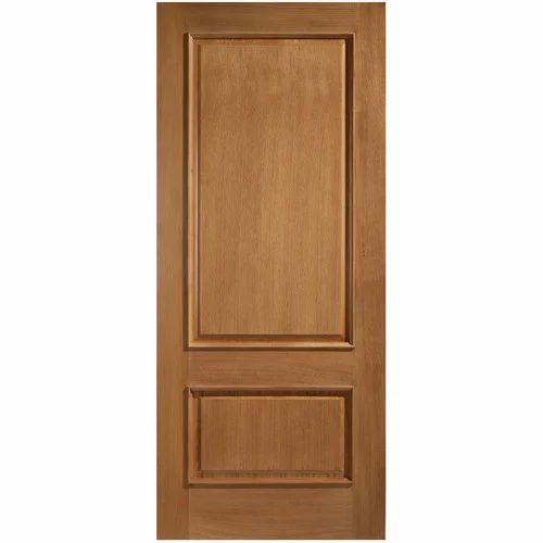 2 Panel Solid Wood Doors