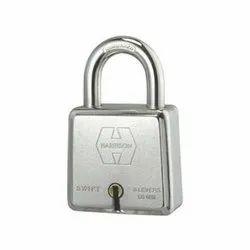 Harrison With Key Swift Hardened Safety Lock, Chrome, Padlock Size: 65 mm