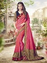 Indian Women Bahubali Paper Silk Saree