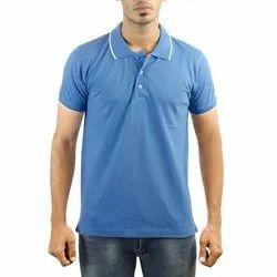 Mens Collar Neck T Shirts