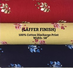100% Cotton Discharge Print (Laffer Finish)
