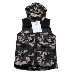 Kids Sleeveless Printed Jacket