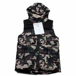 Kids Sleeveless Printed Jacket