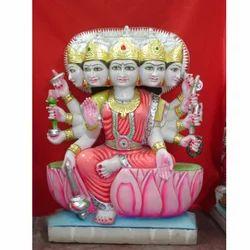 Marble Gayatri Maa Statue