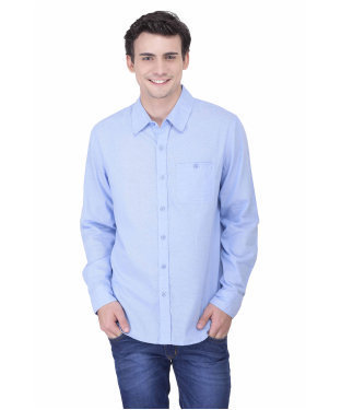 b5c9337a3 ... Clothing   Mens Formal Shirts   Mens Cotton Shirts. XL Oxolloxo Men  Smart Blue Cotton Shirt