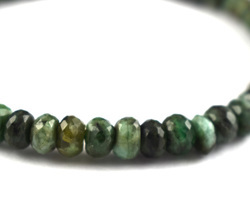Emerald Shaded Gemstone Beads