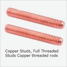 Copper Threaded Stud