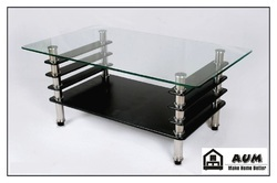 Glass Center Table, Coffee Table, Glass Tipoi