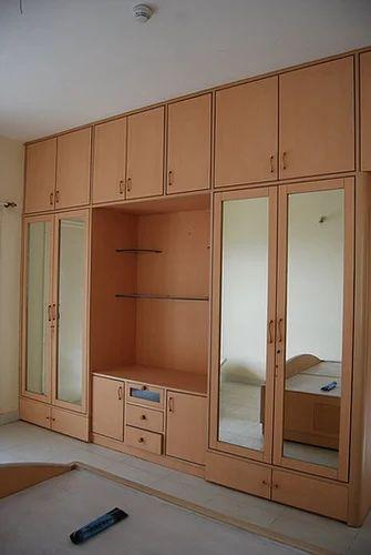 . Light Brown Modern Wardrobes Contemporary Bedroom   ID  17359160548