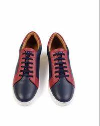Navy Blue and Maroon Venue- Club Foam Navy Blue Casual Men's Sneaker