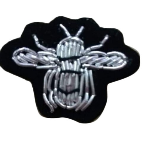 Hand Made S I Craft Embroidered Badges