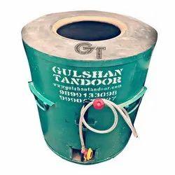 MS  Round Gas Drum Tandoor