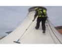 Tensile Structure Cleaning Service